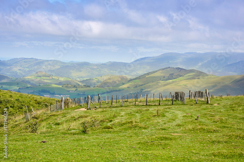 Valle de Aézcoa, redil, Navarra, España