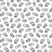 Seamless Pattern Of Recyclable...