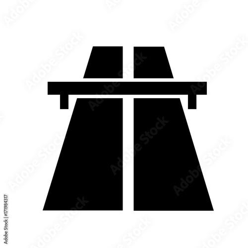 Fotografía  Road sign indicating a toll road or motorway.