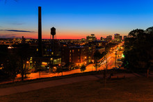 Street Scenes From Libby Hill Richmond Va In The Evening