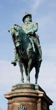 Ryttarstaty Föreställande Karl X
