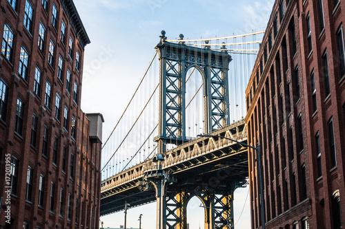 Foto op Canvas Brooklyn Bridge Brooklyn, New York, USA