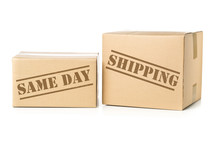 Two Carton Parcels With Same D...