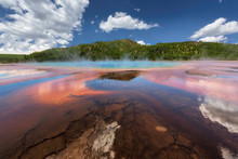 Famous Grand Prismatic Springs...
