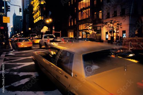 Fotografia  yellow cab new york 1994