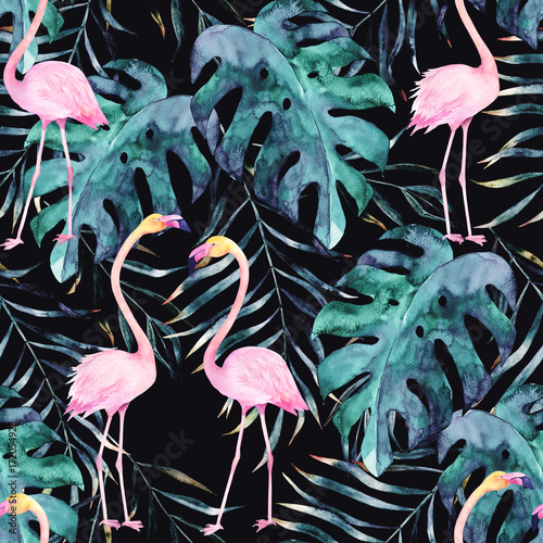 watercolor-seamless-pattern-tropical