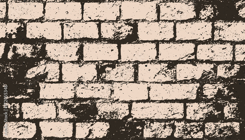 abstract-brick-wall-surface-vector-construction-texture-grungy-blocks-industrial-background-design-rough-wallpaper-with-old-distressed-bricks-pattern