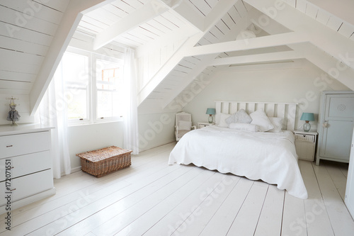 Fotografía  Interior View Of Beautiful Light And Airy Child's Bedroom