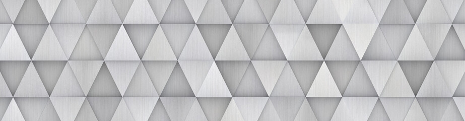 FototapetaWide Metal Geometrical Backdrop (site head) 3d