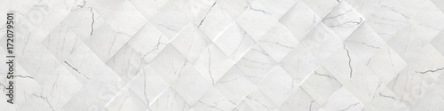 Photo  White Wide Marble Background (3d illustration)