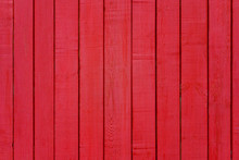 Painted Red Wooden Wall Panel (texture, Background)