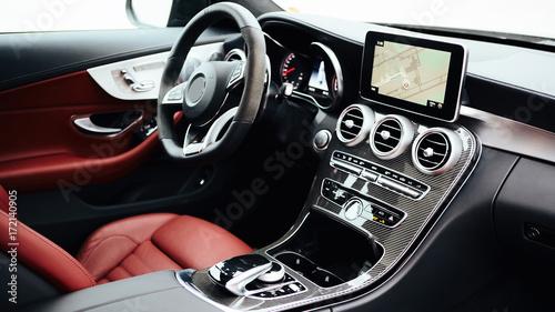 Fotografie, Obraz  Luxury car Interior