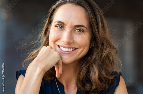 Fotografia  Smiling mature woman
