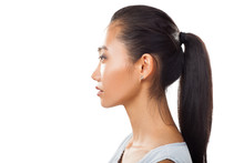 Closeup Portrait Of Asian Youn...