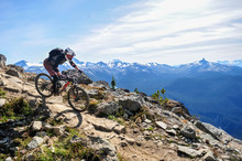 Mountain Biking In Whistler, B...
