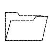 Folder open symbol icon vector illustration graphic design