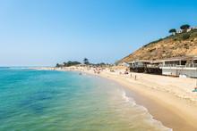 Sunny Day At Malibu Beach, Cal...