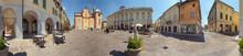 Asola, Piazza XX Settembre A 360 Gradi