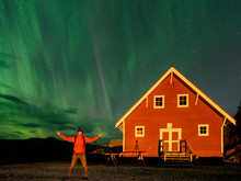 Happy To See Northern Lights