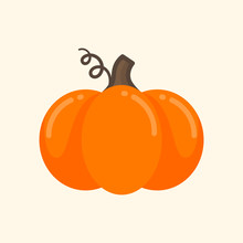 Cartoon Cute Pumpkin Vector