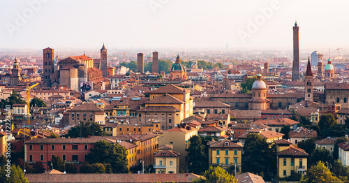 Bologna Morning View Fotobehang