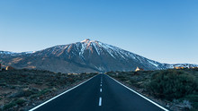 Road To The Volcano Teide National Park