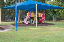 Sun Shade Playground At Grassy...