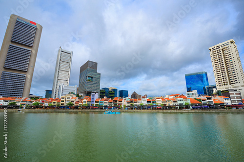Photo  urban cityscape view of Singapore