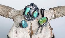 Antique Navajo Jewelry.
