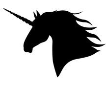Silhouette Head Mycology  Unicorn