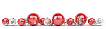 Red And White Christmas Bauble...