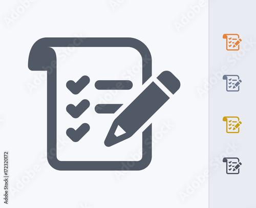 Foto Pencil & List - Carbon Icons