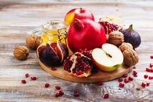 Autumn Harvest Concept - Fruit...