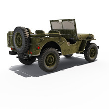 Jeep Willys Back