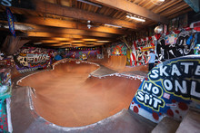 Internal Skateboard Track In C...