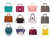 Set Of Stylish Women S Handbag...