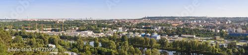 Fototapeta Prague view panorama. obraz na płótnie