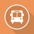 Runder Button mit Schatten - Bus