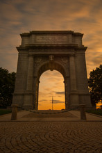 Valley Forge Arch Monument