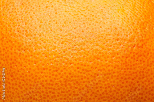 citrus peel, orange, grapefruit, lemon, abstract background Canvas Print