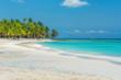 Saona beach.