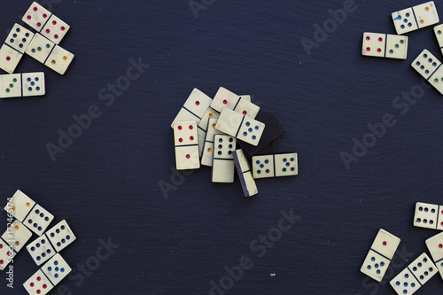 Domino Canvas Print