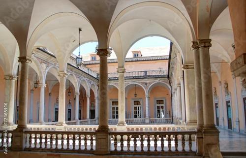 Fotografie, Tablou Palais, églises et rues de Gênes en Ligurie (Italie)