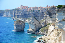 Corsican Village Of Bonifacio ...