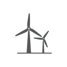 Wind Power Icon.