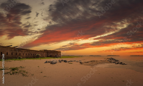 Photo sur Aluminium Fortification Fort Clinch