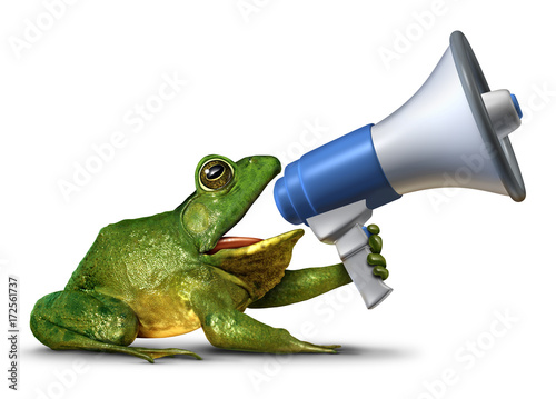 Photo Frog Announcer