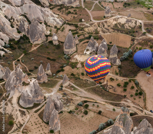 Zdjęcie XXL Gorące Powietrze Balony Nad Cappadocia, Turcja