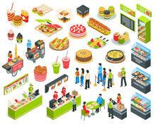 Fast Food Isometric Cort Set