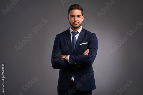 Fotografie, Obraz  Confident elegant young man
